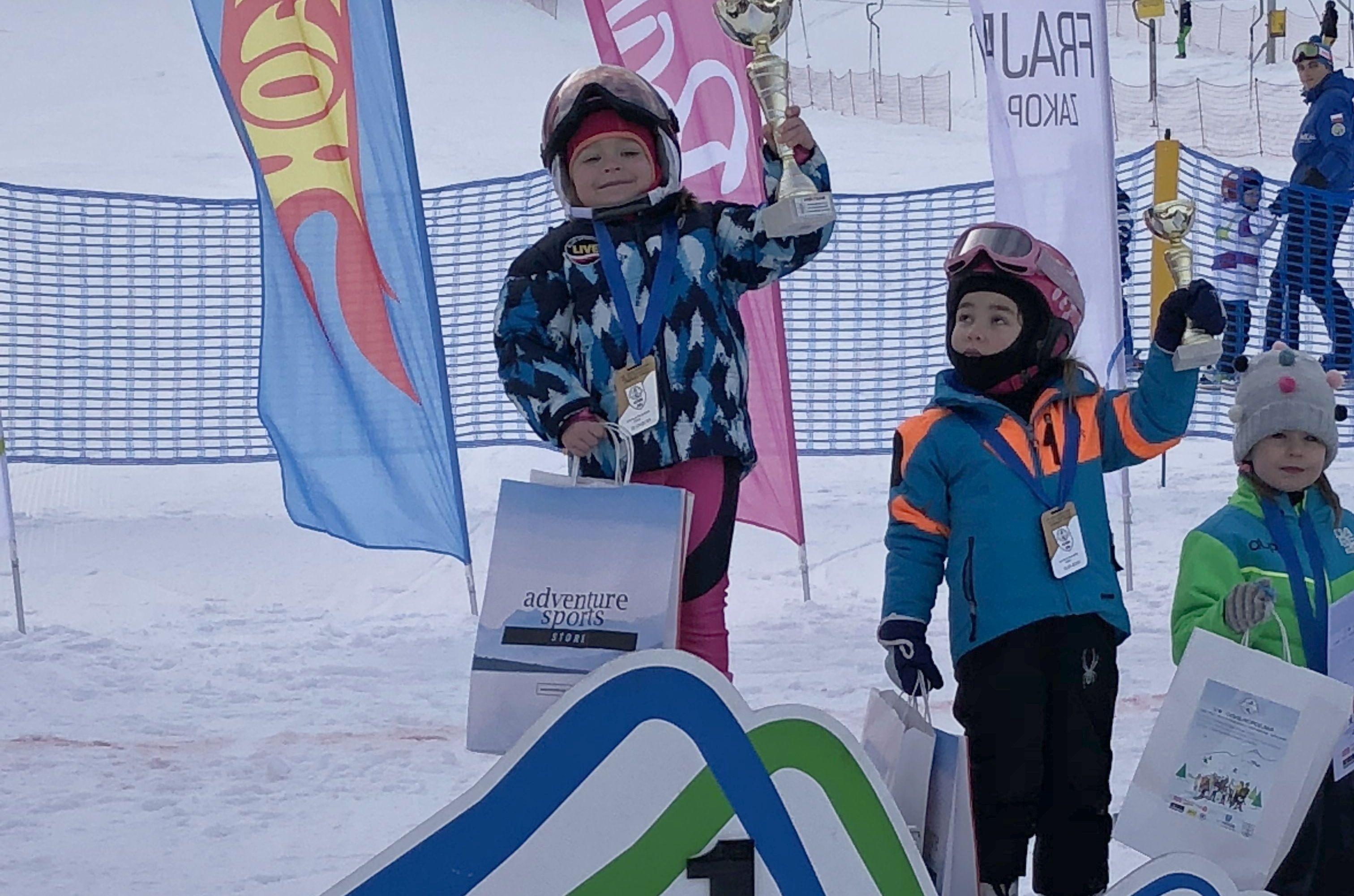 4-letnia Natalia z Roczyn wygrała zawody pod Tatrami!