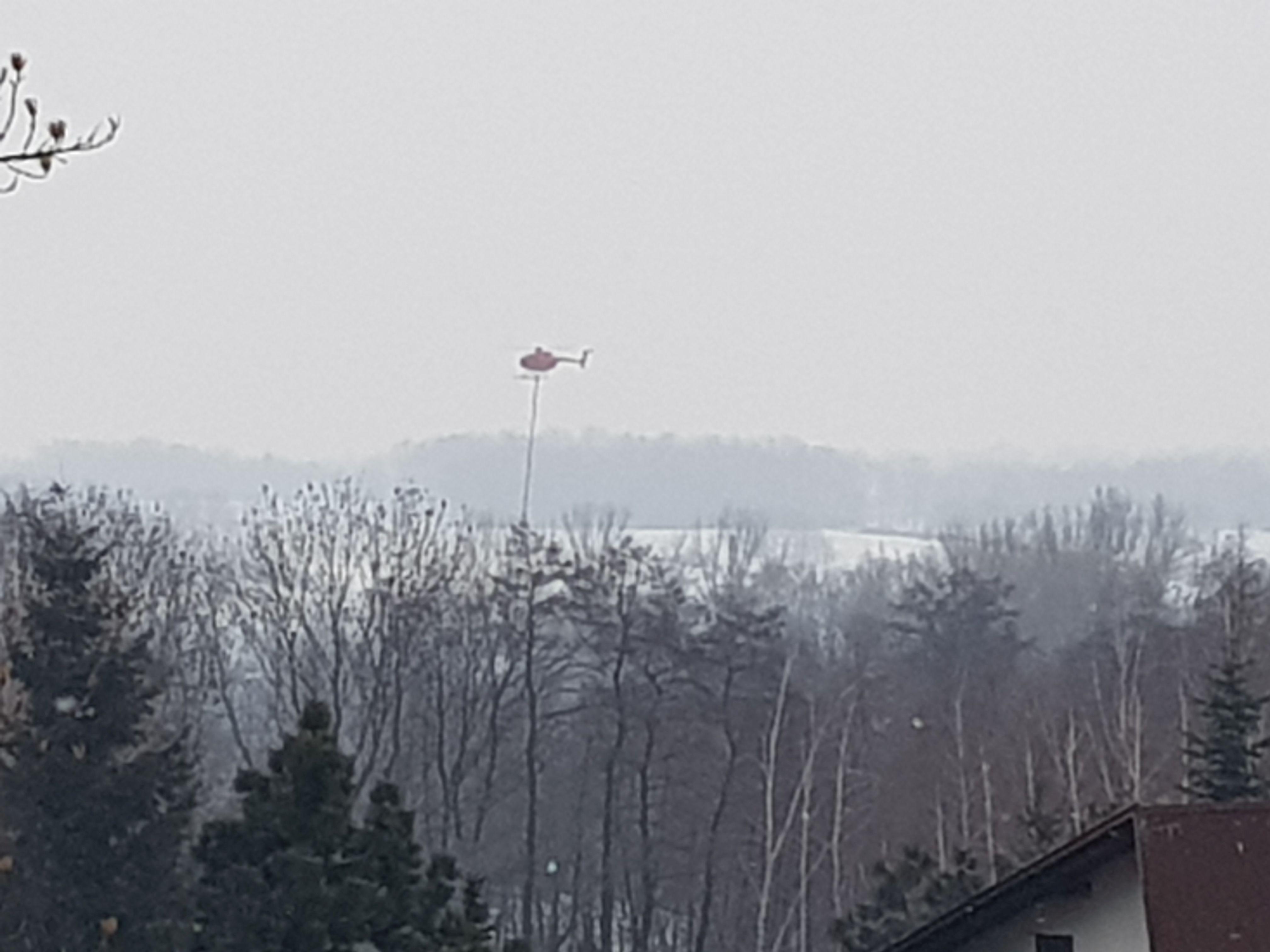 Nietypowa akcja w okolicach Andrychowa