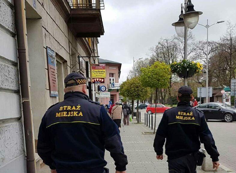 Ponad 1700 interwencji straży miejskiej w Andrychowie w ciągu ubiegłego roku