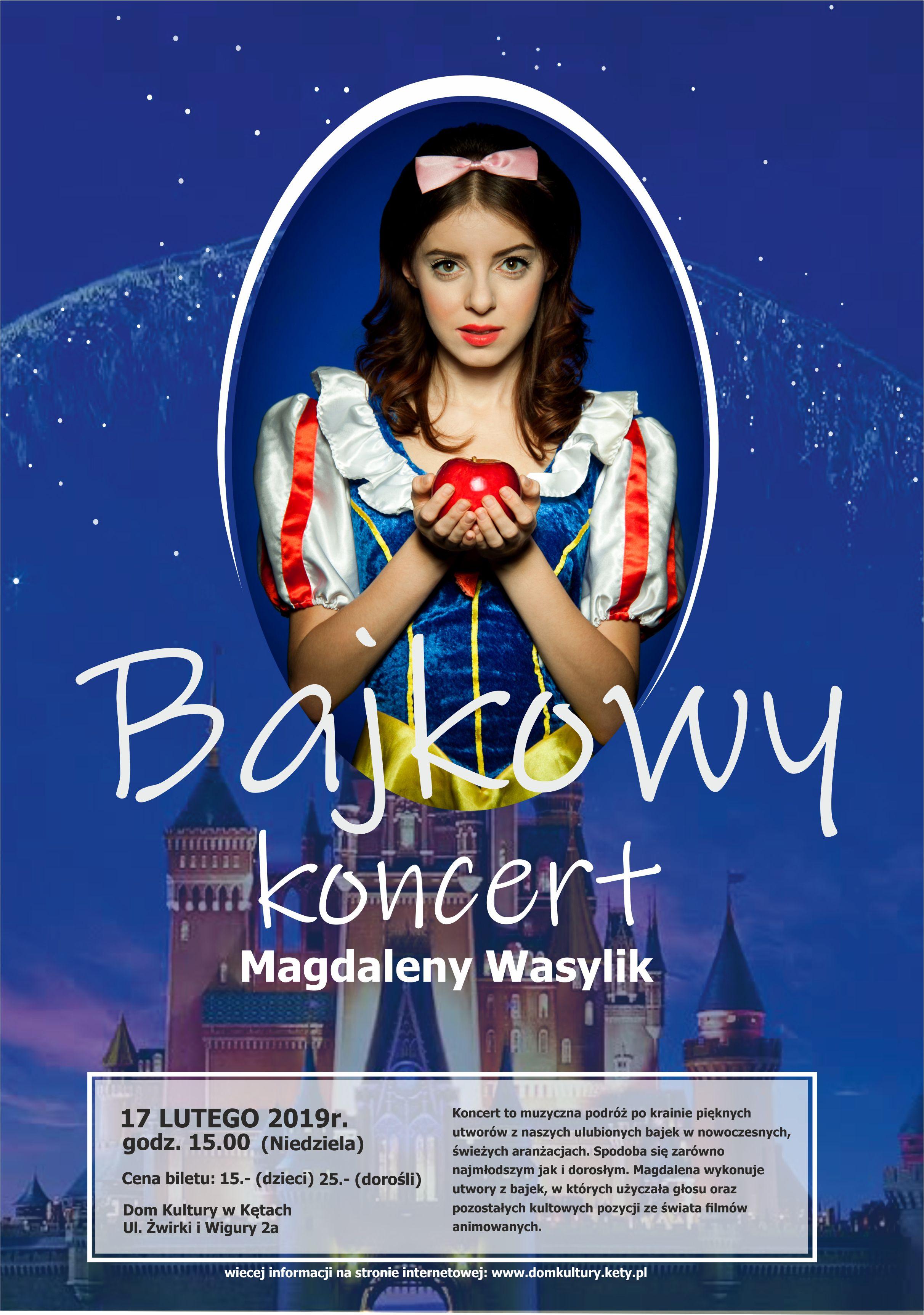 Bajkowy koncert Magdaleny Wasylik