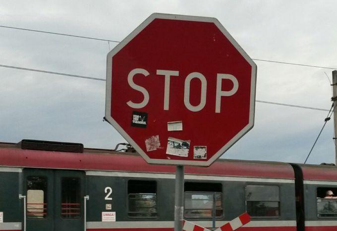 Wspólna akcja Straży Ochrony Kolei oraz Policji na przejazdach kolejowych