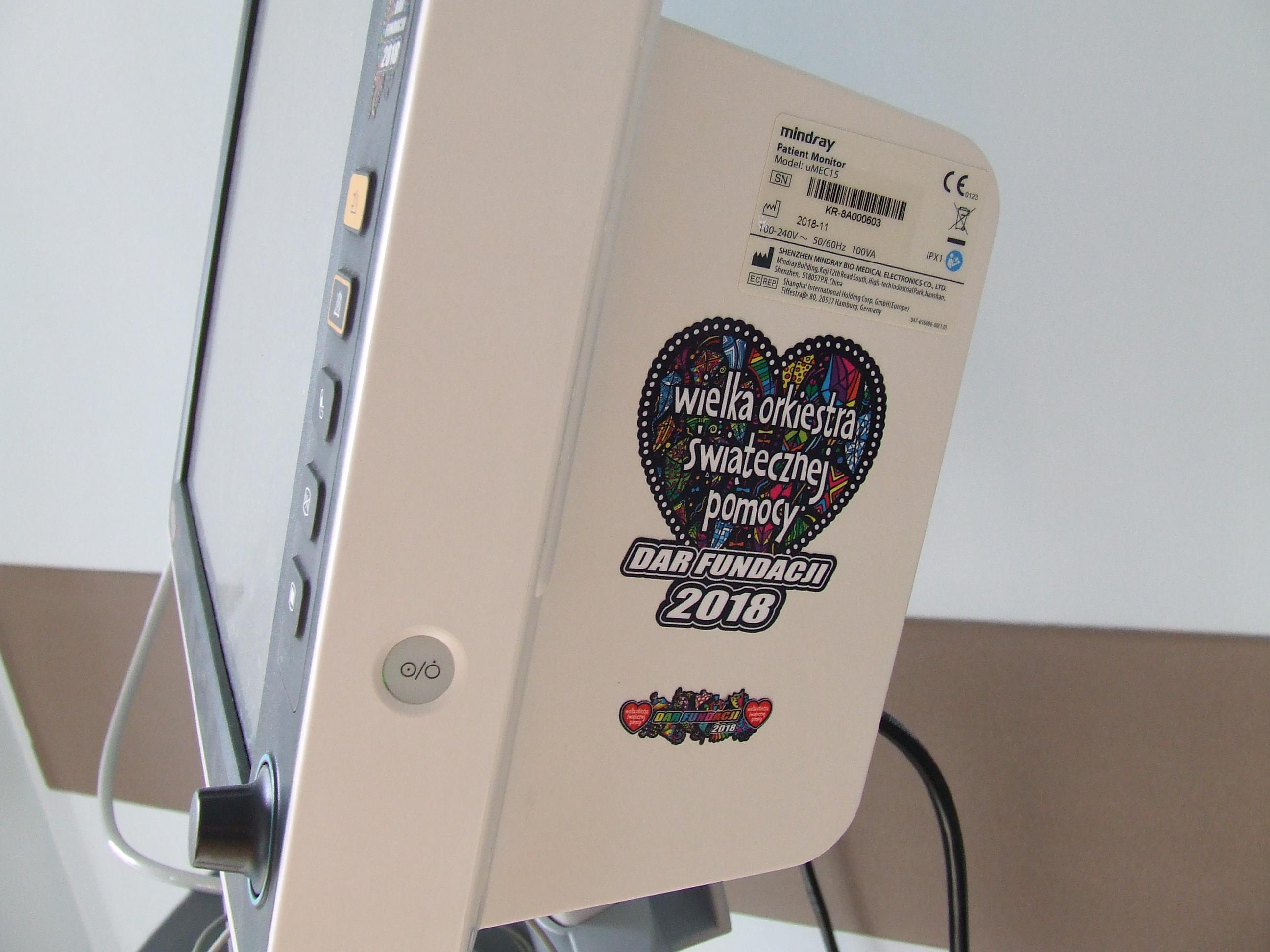 Sprzęt za 120 tysięcy z WOŚP trafił do wadowickiego szpitala [FOTO]