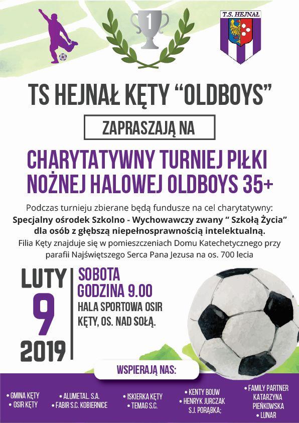 Charytatywny Turniej Piłki Nożnej Halowej Oldboys 35+