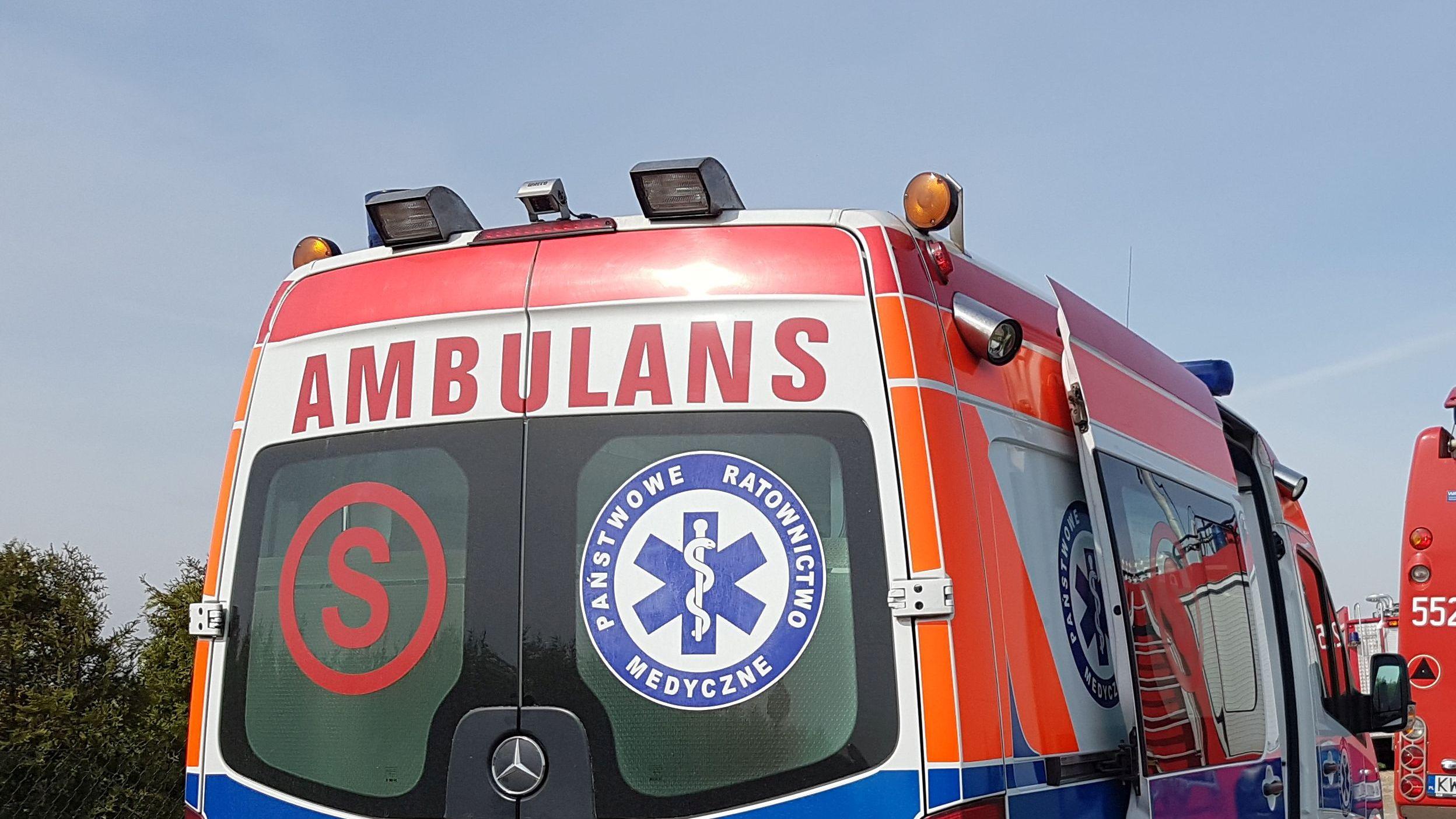 Cztery osoby poszkodowane w wypadku
