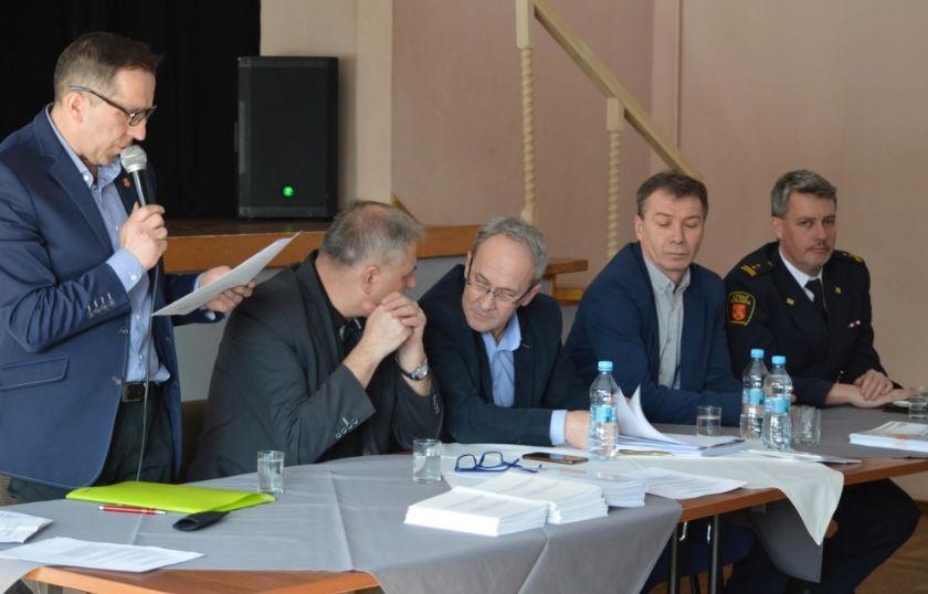 Zebrania wiejskie w gminie Andrychów