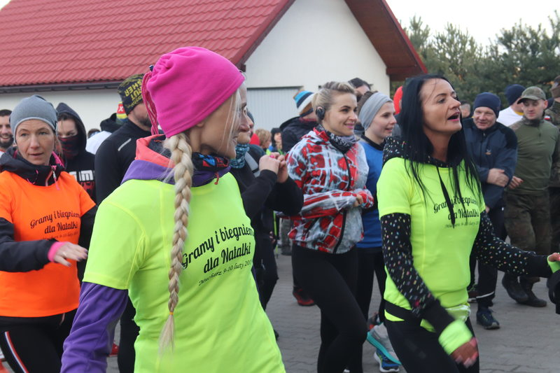 Dwieście osób pobiegło dla chorej na białaczkę Natalki
