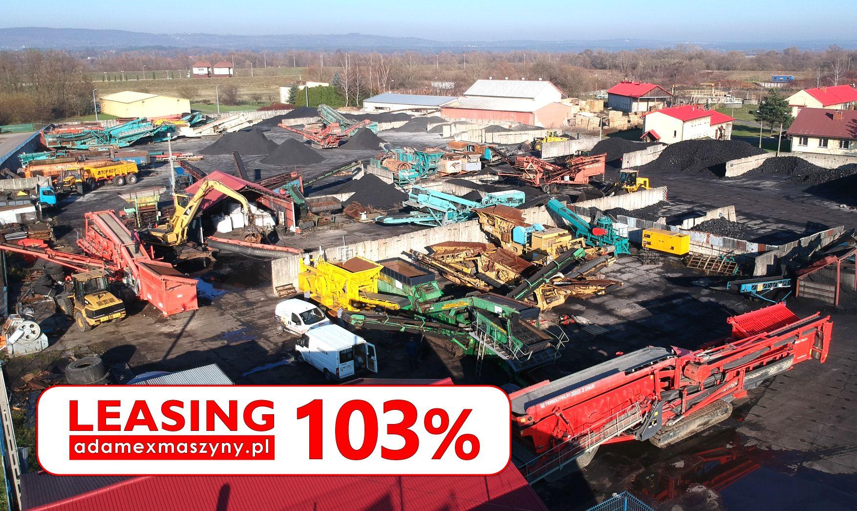 Maszyny budowlane od firmy ADAMEX w promocyjnym LEASINGU 103%*
