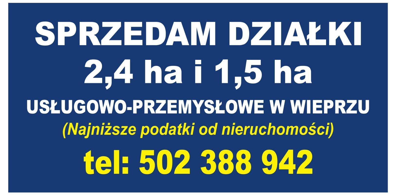 Działki inwestycyjne. 7 tys. zł za ar