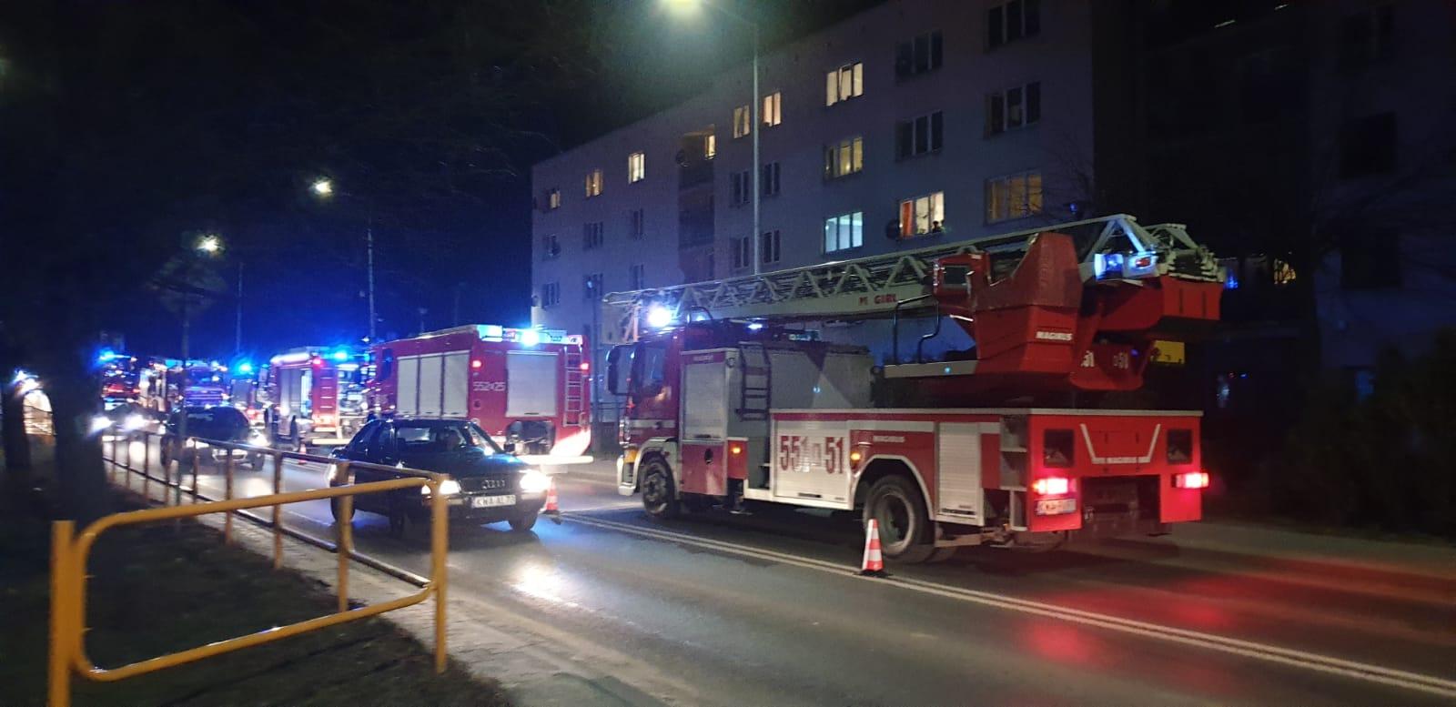 Kumulacja zdarzeń, pożar, wybuch, wypadek [FOTO] [AKTUALIZACJA]