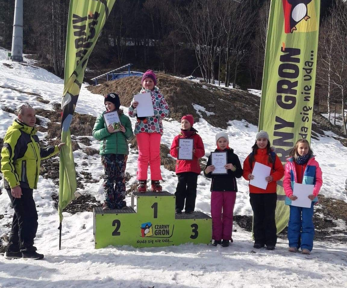 Młodzi narciarze walczyli o prymat w gminie Andrychów