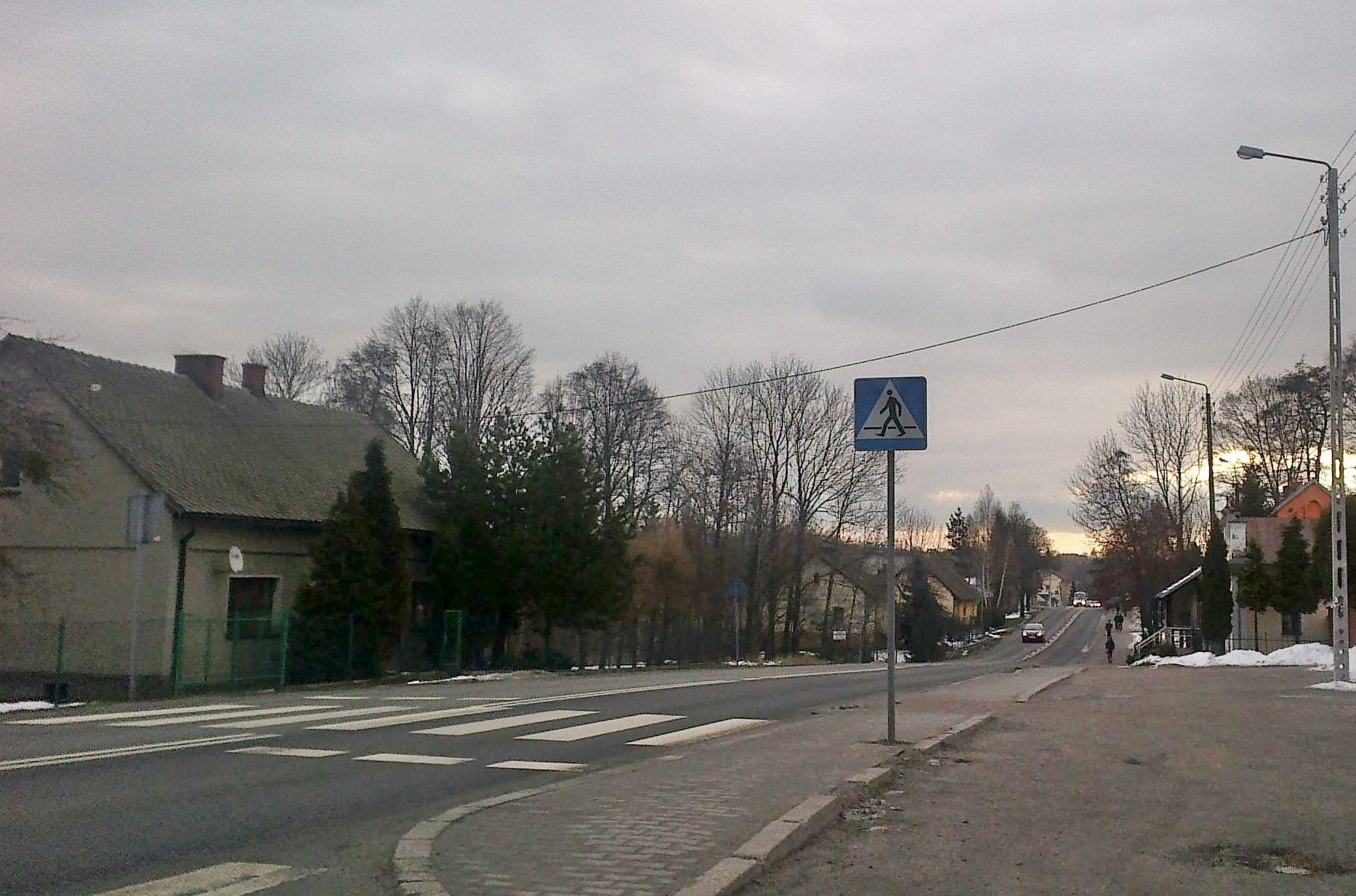 21-latek stracił prawo jazdy, przesadził na drodze Andrychów - Kęty