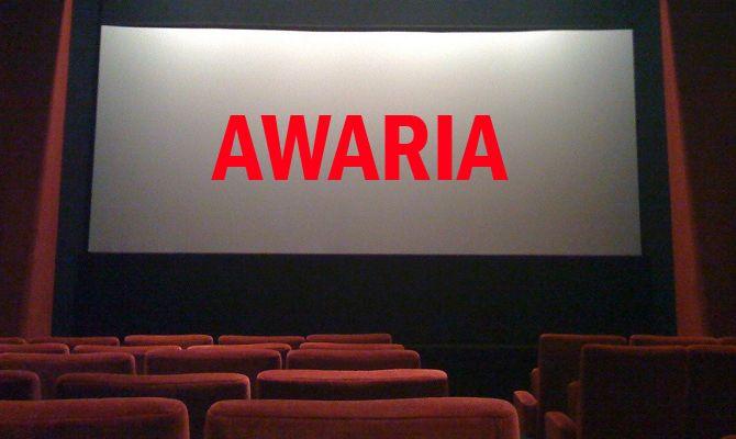 Poważna awaria w kinie Centrum, seanse odwołane