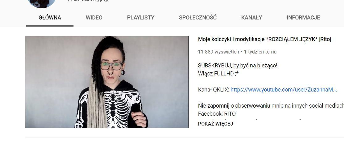 Rito, czyli nowy youtuber z Andrychowa