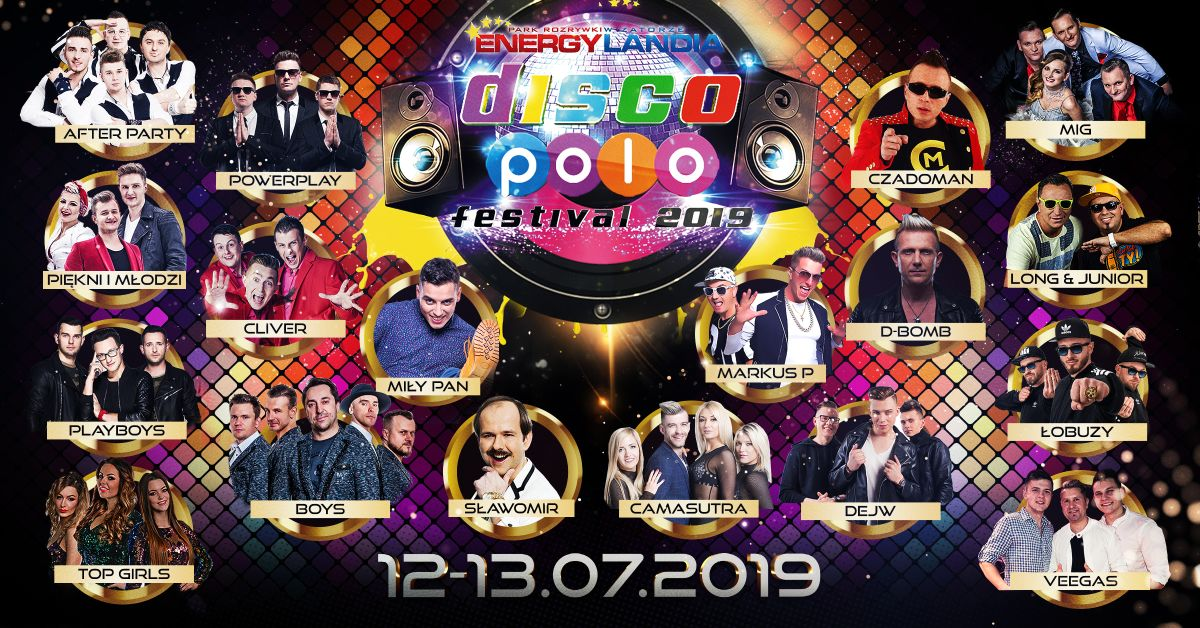 Festiwal disco polo w Energylandii