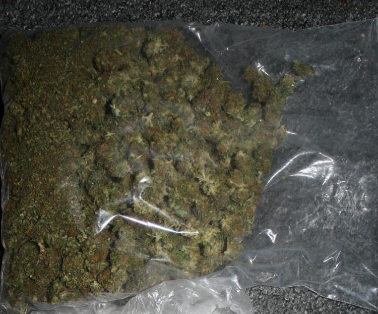 Zatrzymany za marihuanę i nielegalne wyroby akcyzowe