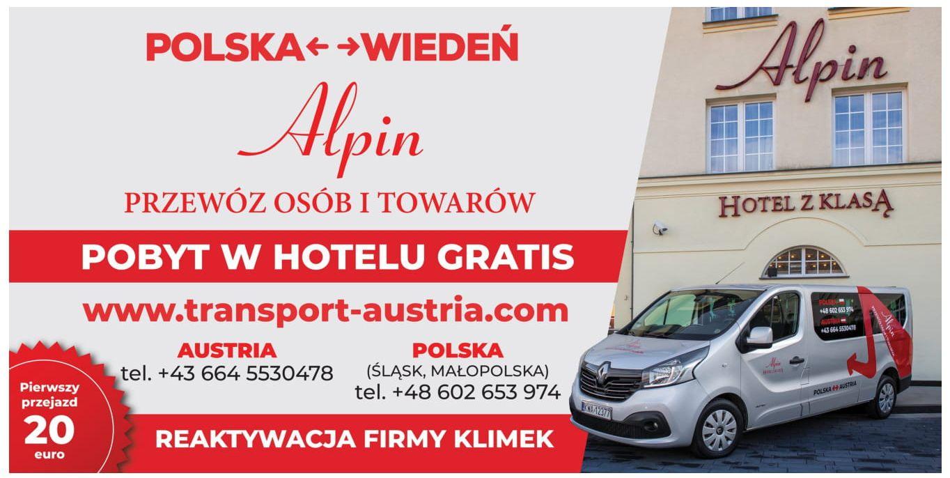 Codzienne przewozy osób i towarów na trasie Polska – Wiedeń