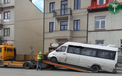 Tym gruchotem przewoźnik woził pasażerów do Krakowa