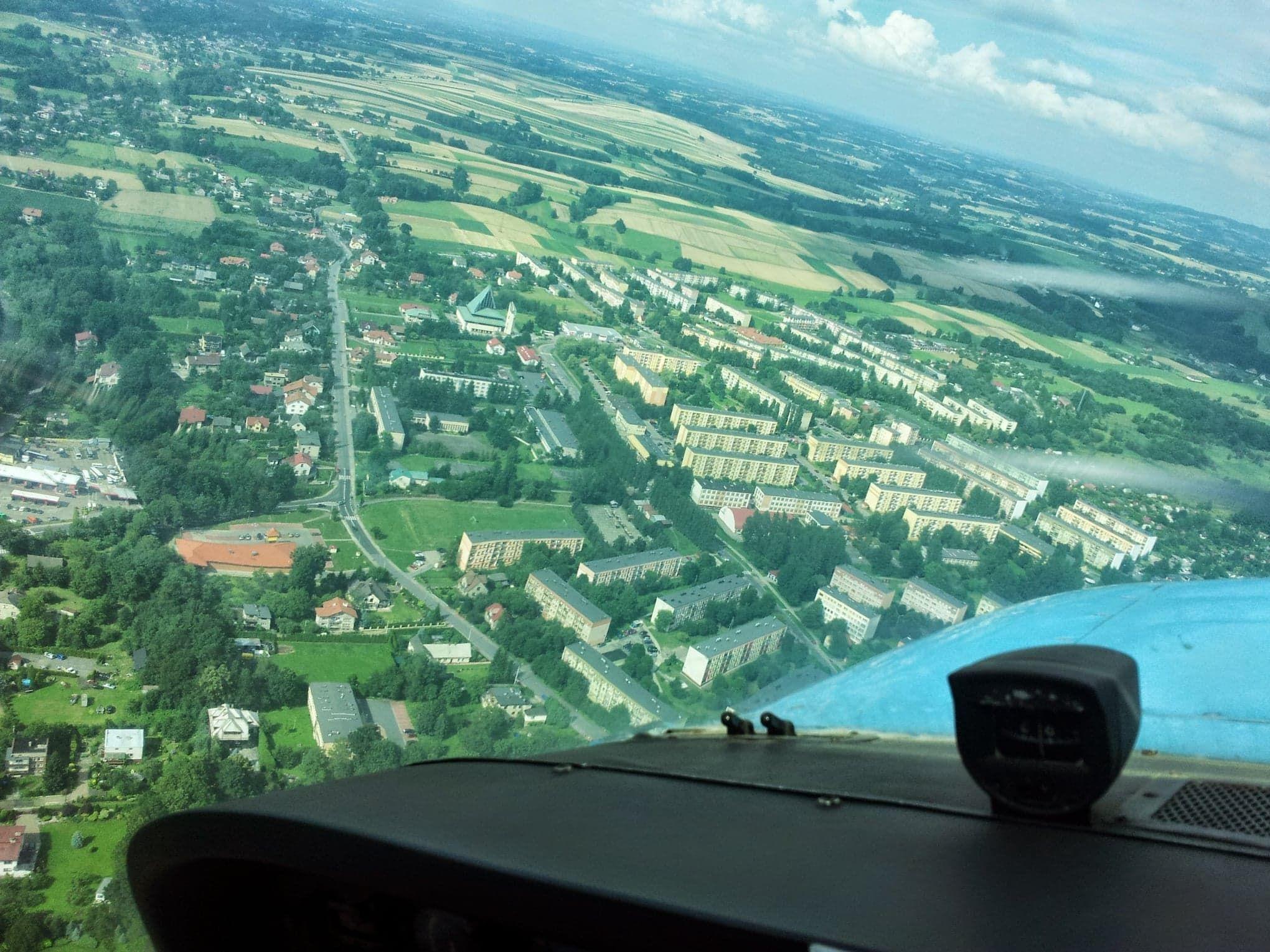Trasa Bielsko-Biała - Andrychów z lotu ptaka [FOTO]