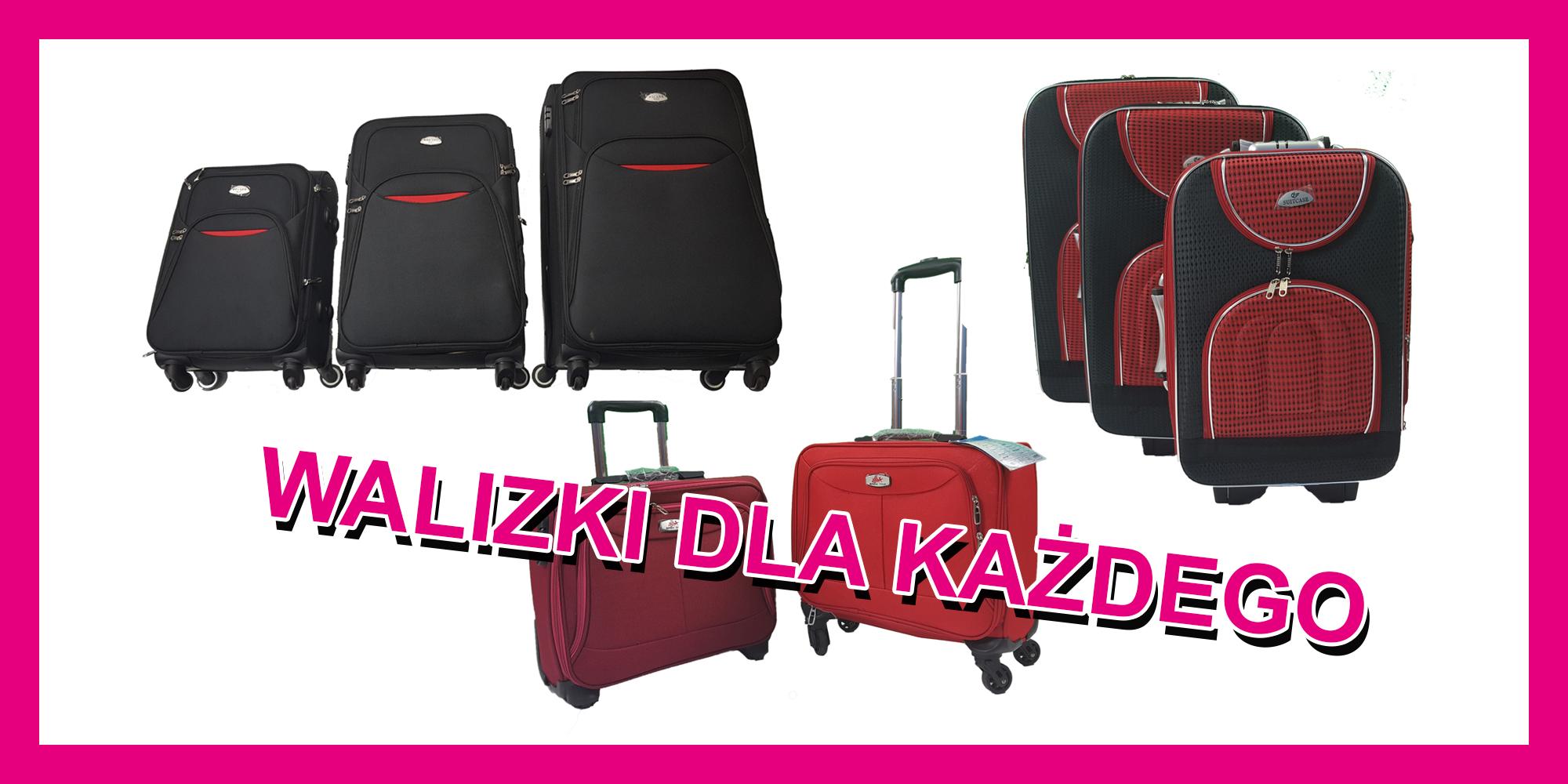 Solidne walizki kabinowe. Atrakcyjne ceny! Andrychów i okolice