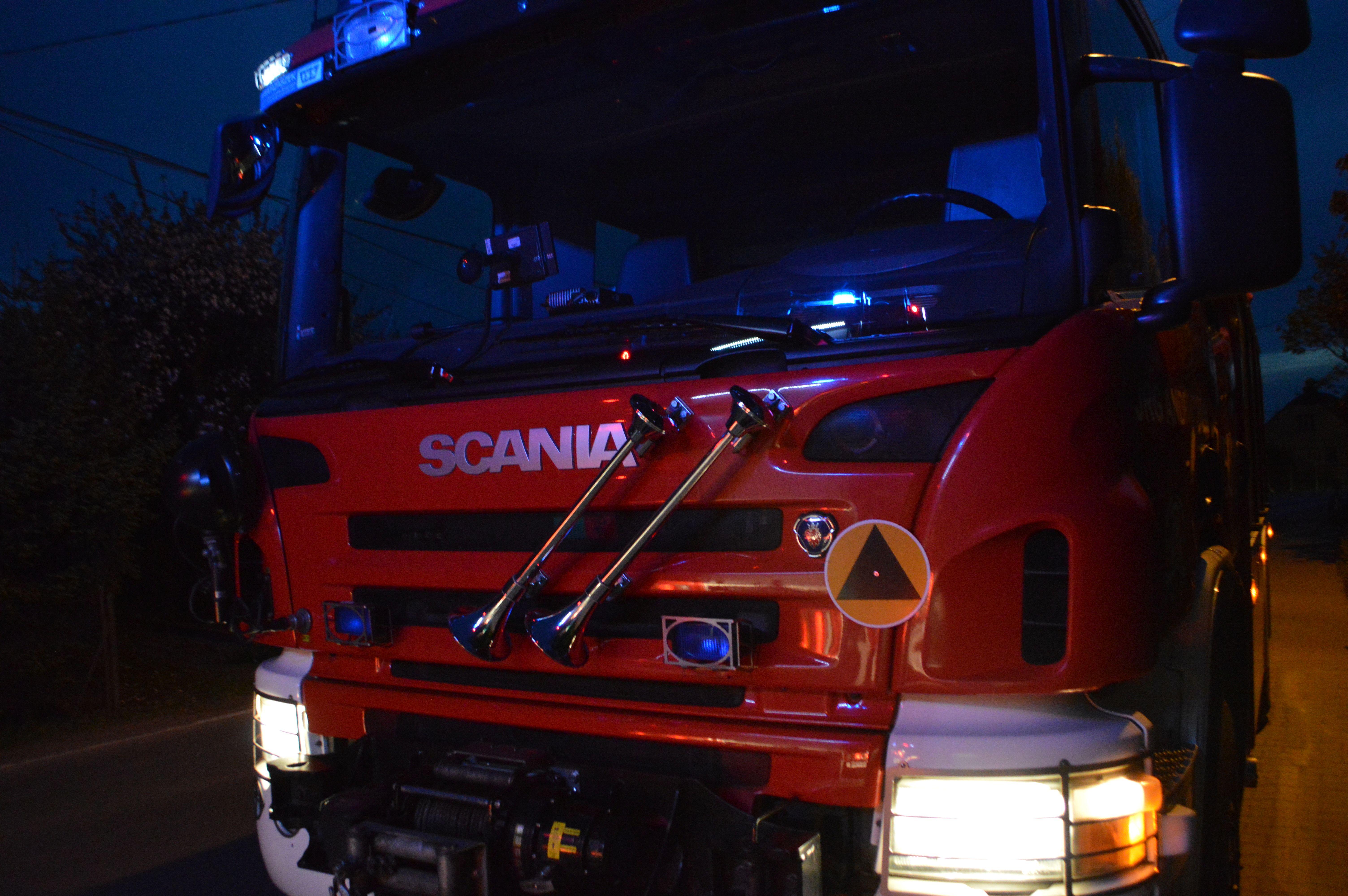 Zderzenie trzech samochodów we Frydrychowicach