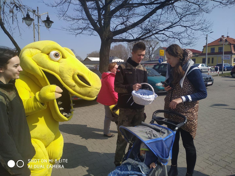 Akcja edukacyjna na ulicach Andrychowa [FOTO]