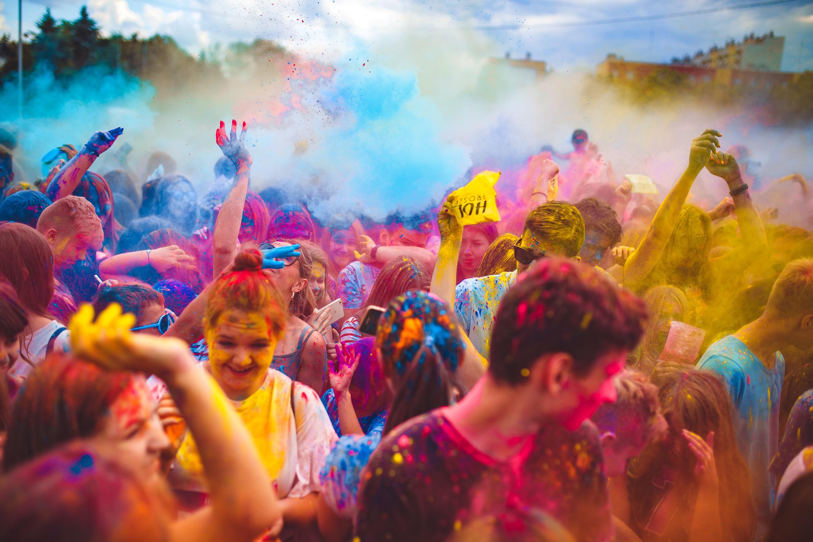 Holi Święto Kolorów już w maju w Andrychowie