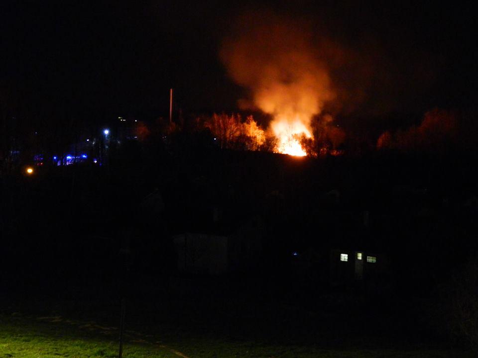 Kolejny pożar w tym samym miejscu