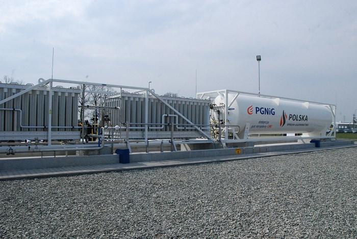 Pierwsza w Małopolsce stacja LNG uruchomiona została w Zatorze