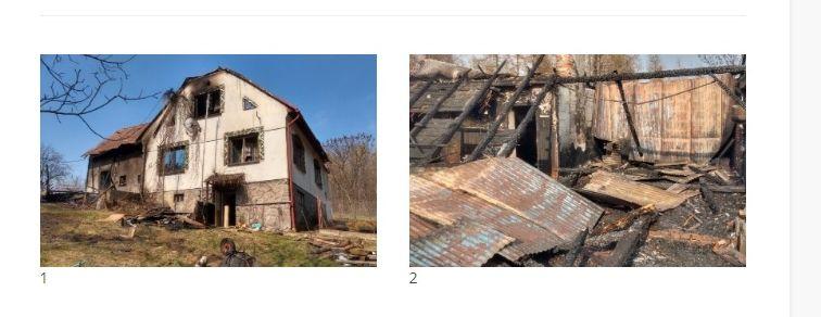 Ruszyła akcja pomocy dla mieszkańca, któremu spłonął dom
