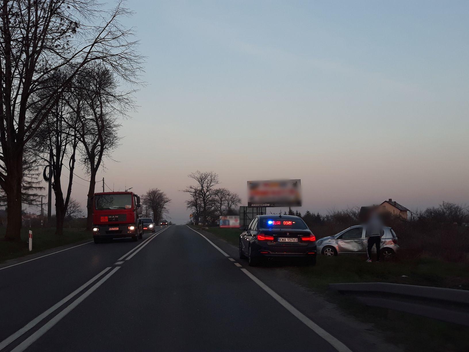 Niebezpieczna sytuacja na granicy Andrychowa z Inwałdem