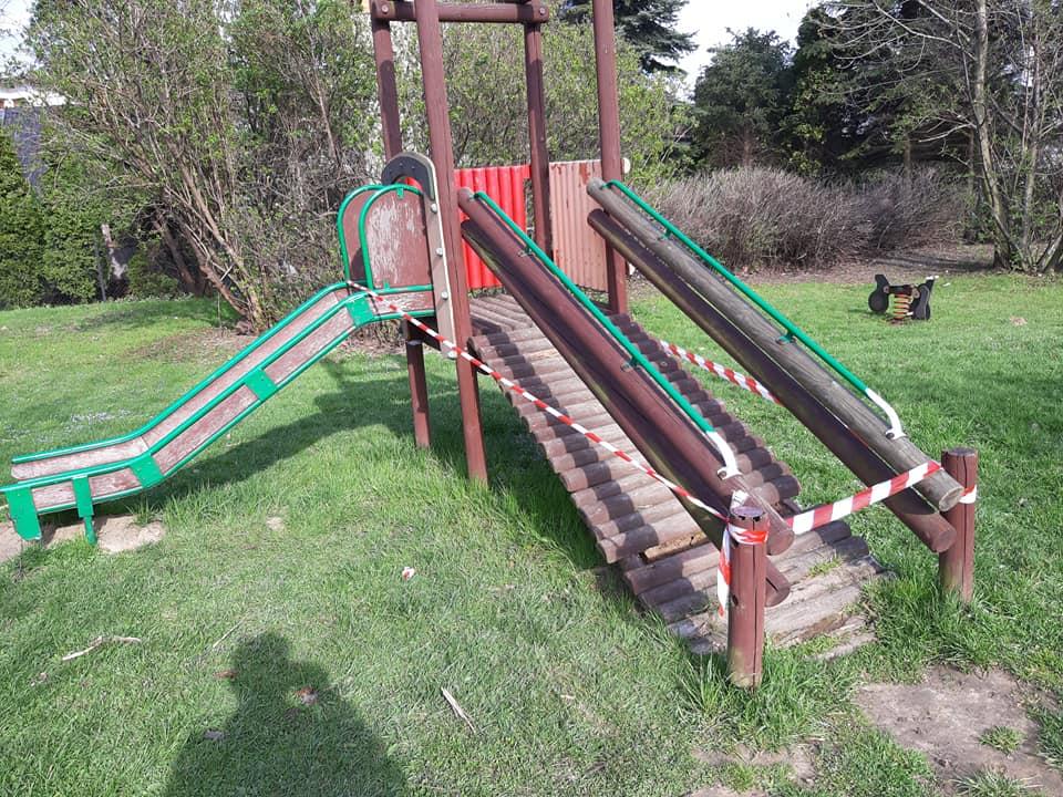 Niektóre place zabaw w Andrychowie stanowią zagrożenie dla dzieci