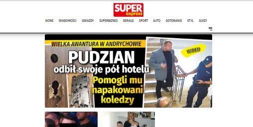 Super Express: Pudzianowski odbił połowę hotelu w Andrychowie