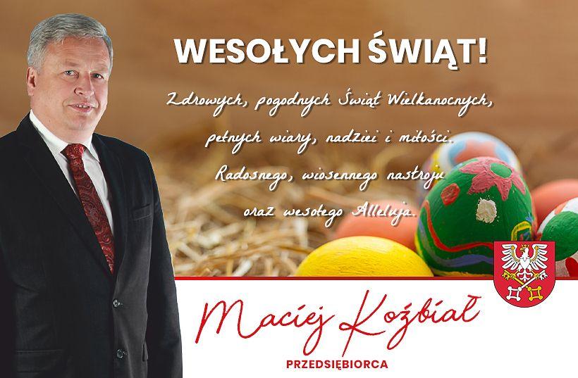 Życzenia Świąteczne Macieja Koźbiała
