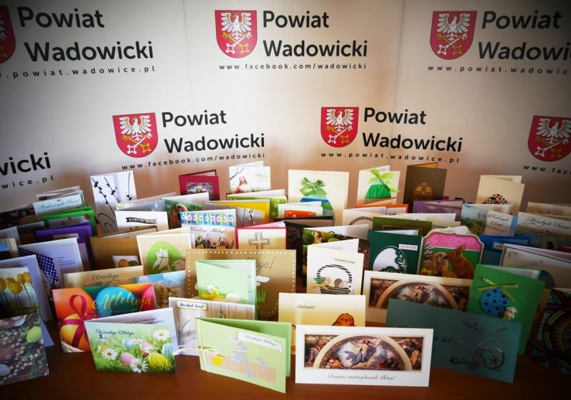Życzenia z okazji świąt Zmartwychwstania Pańskiego od Zarządu Powiatu Wadowickiego
