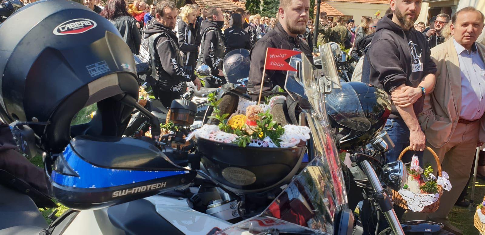 Moto Święconka po raz kolejny w Andrychowie [FOTO]