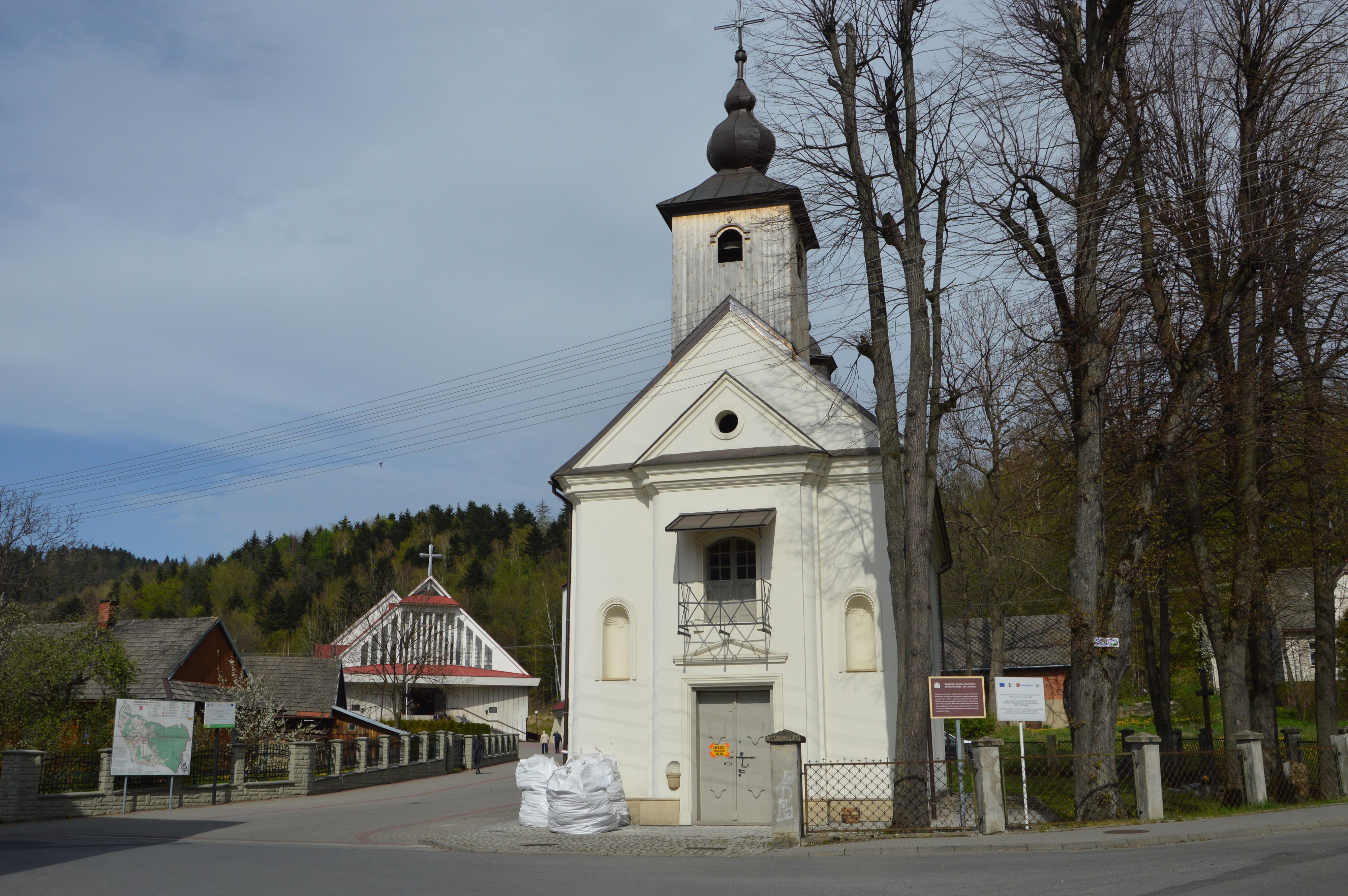 Trwa remont zabytkowej kaplicy w Zagórniku