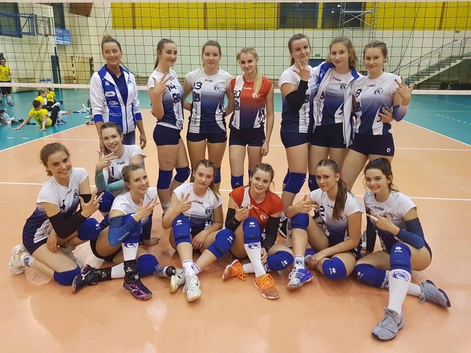 Siatkarki MKS Andrychów awansowały do turnieju finałowego o wejście do II ligi