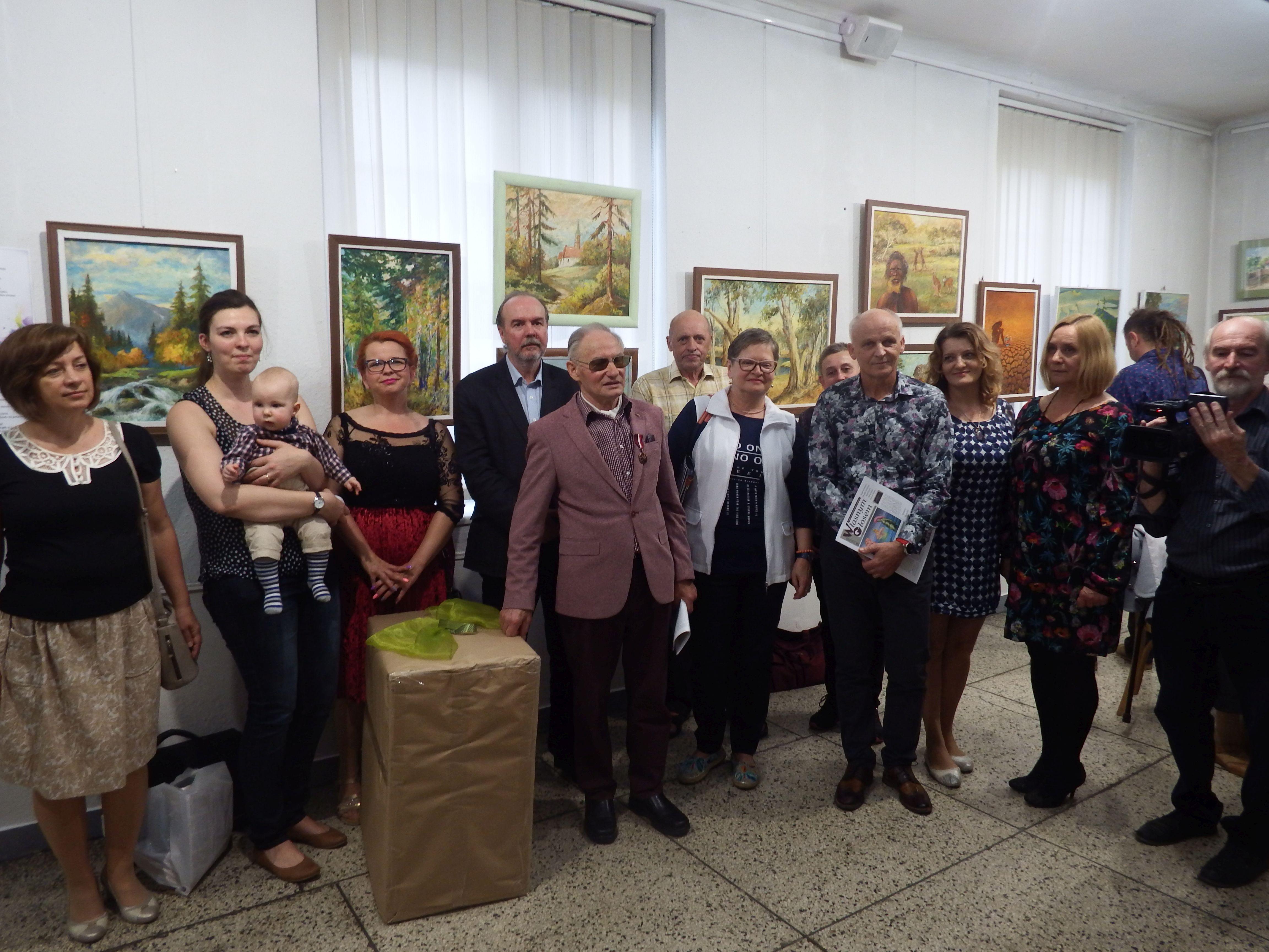 Wystawa obrazów Kazimierza Jończego. Jego prace można podziwiać na całym świecie [FOTO]