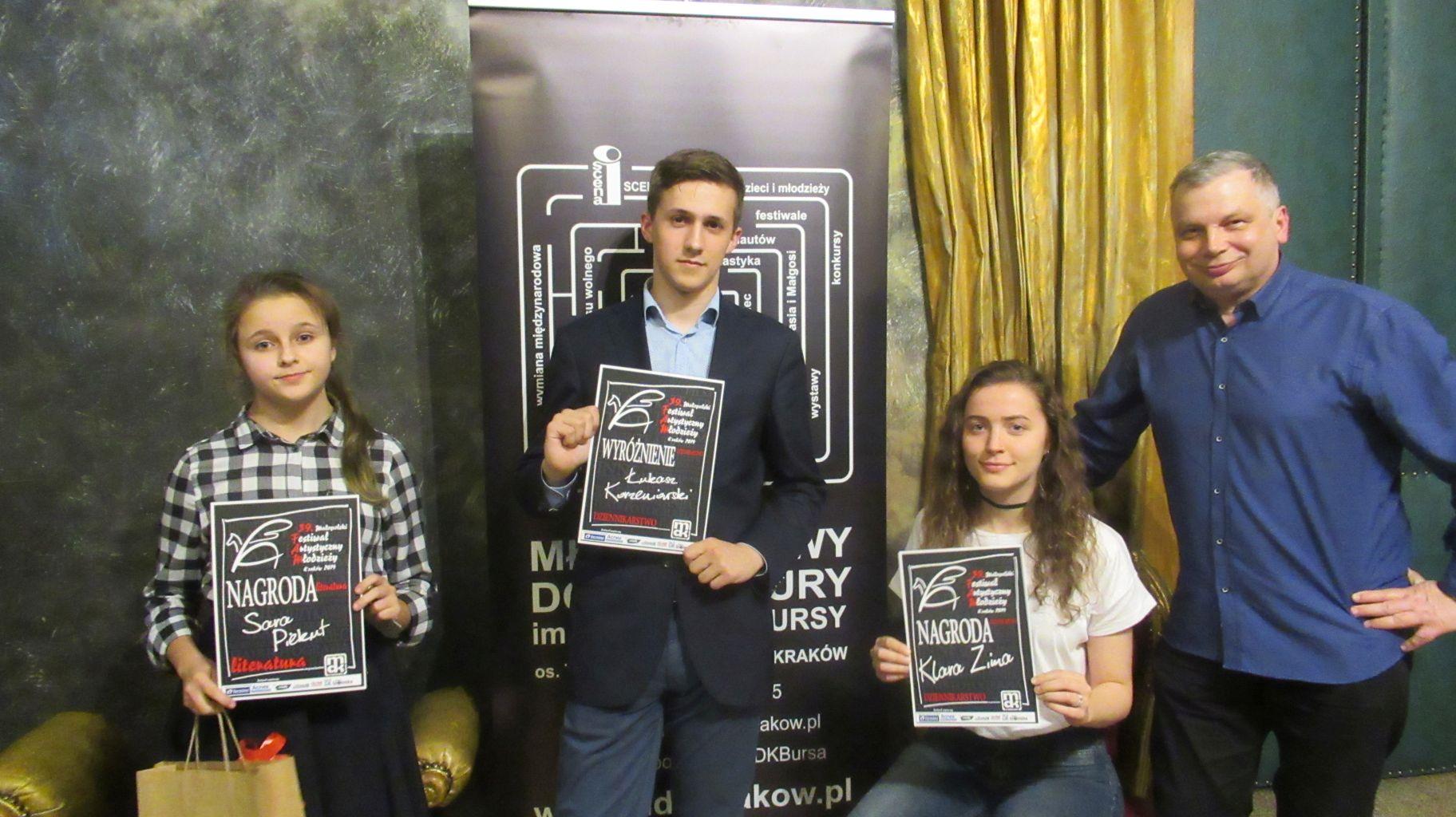 Licealiści z Wadowity bezkonkurencyjni w 39. Małopolskim Festiwalu Artystycznym Młodzieży