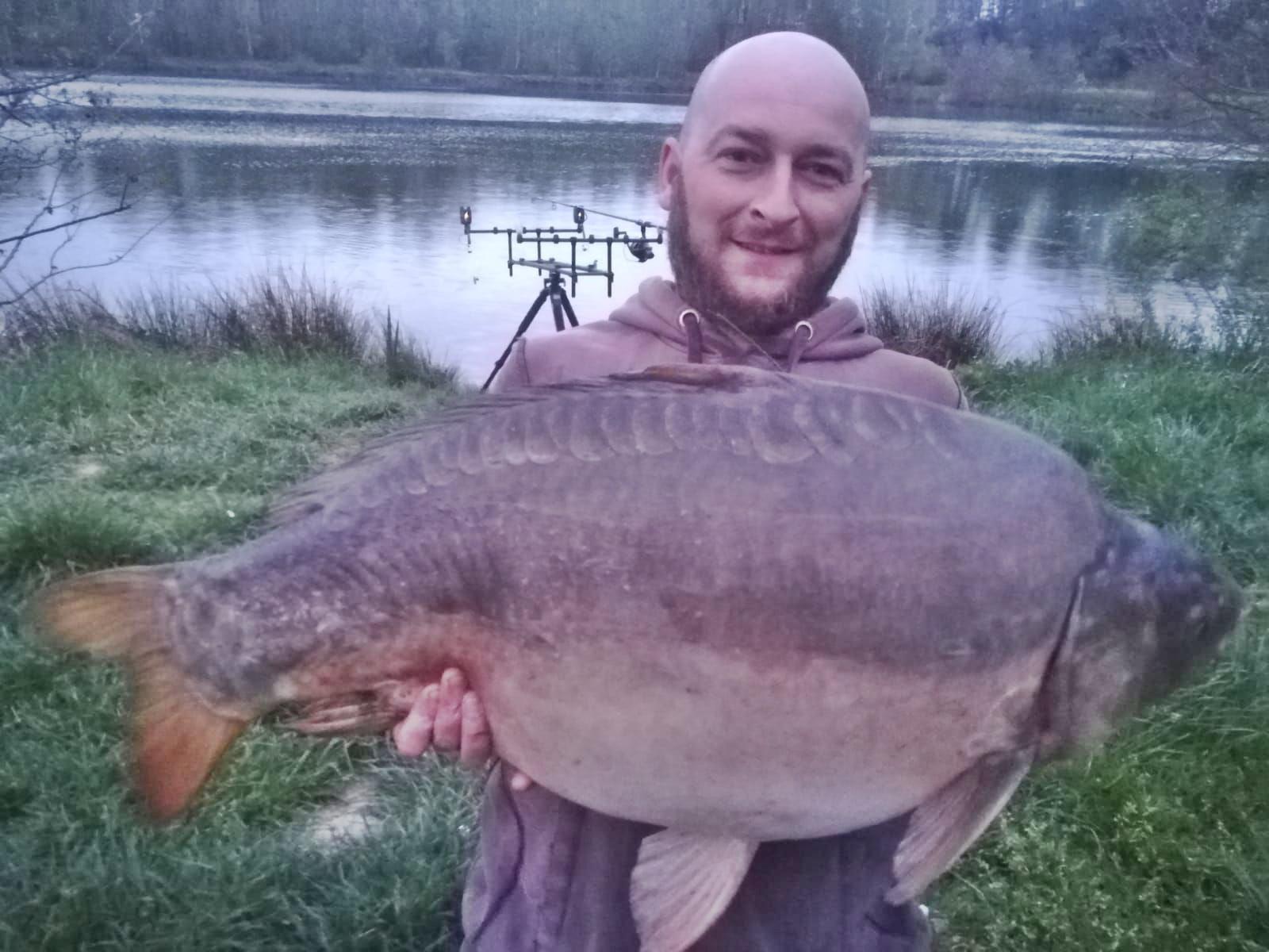 Ryba gigant w Graboszycach. 18,5 kg!