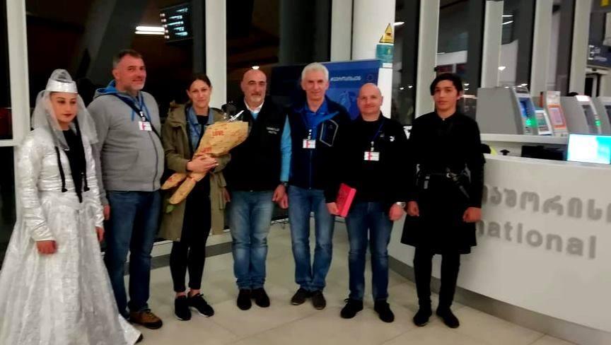 Delegacja z Andrychowa w Gruzji