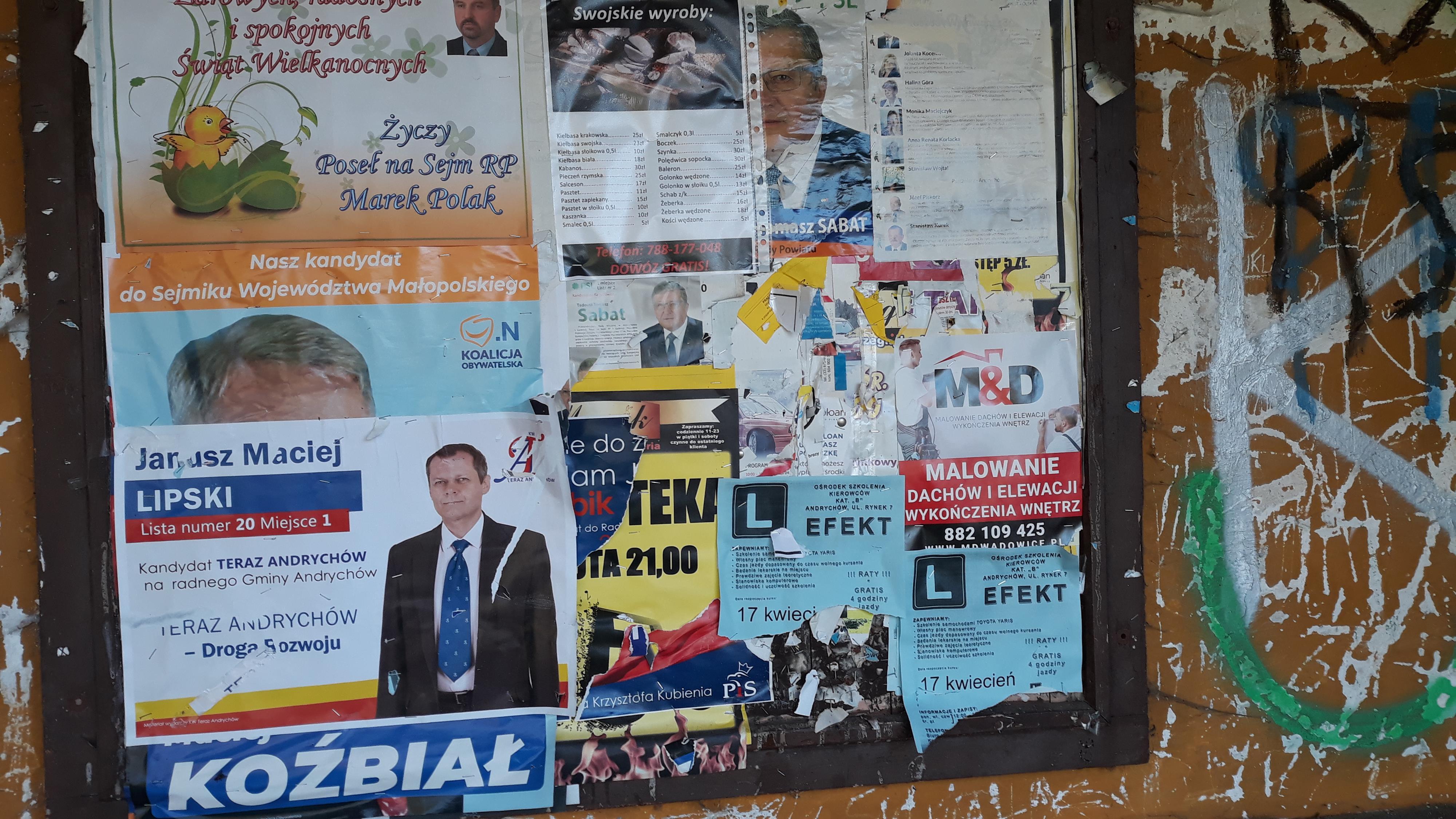 Kolejne wybory za pasem, a niektórzy nie posprzątali jeszcze po poprzednich
