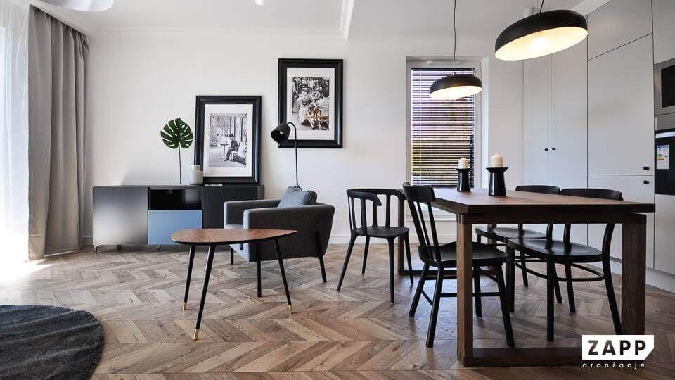 Sposoby trójmiejskich architektów na małe przestrzenie nowoczesnych mieszkań