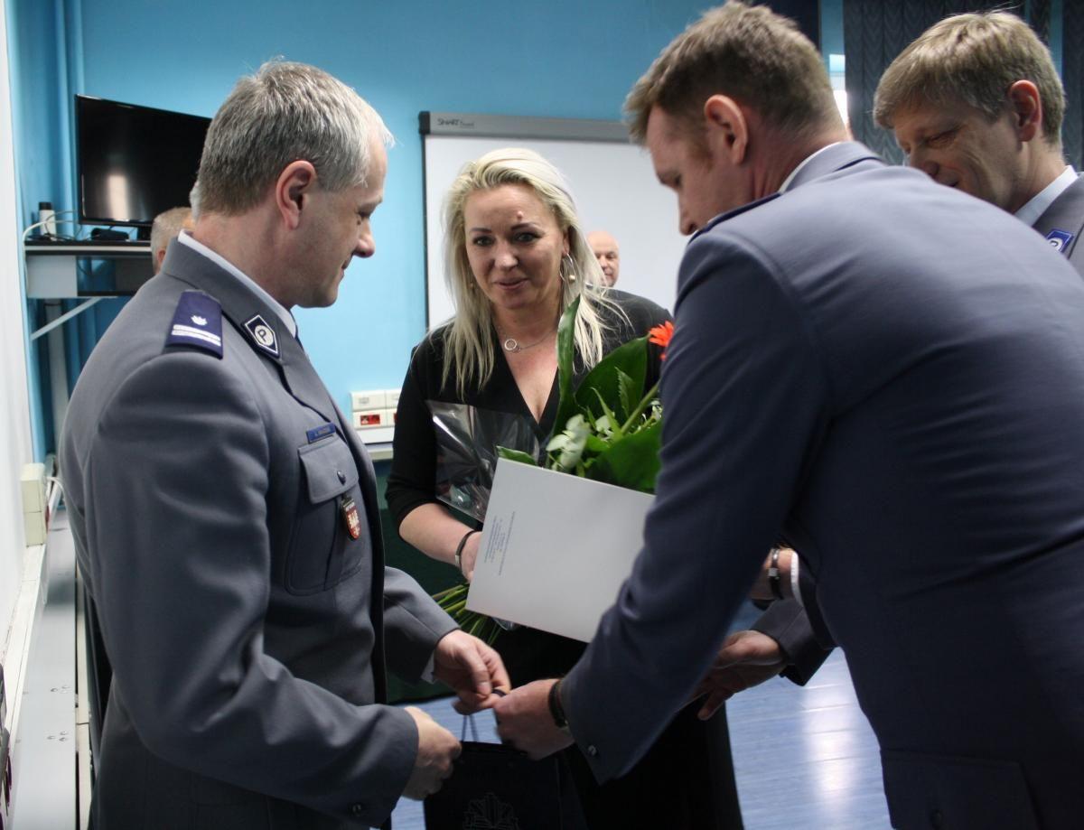 Nowy szef powiatowej policji oficjalnie objął stanowisko