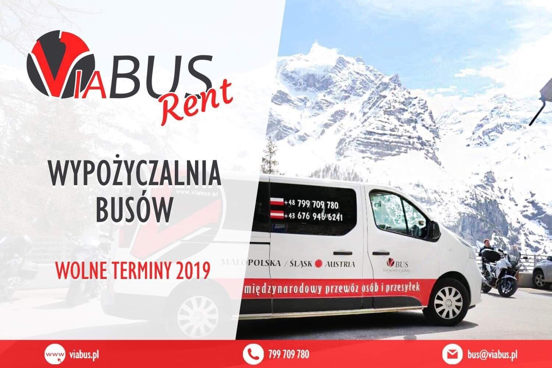 Firma Via Bus oferuje samochód RENAULT TRAFIC 2018 gotowy do jazdy