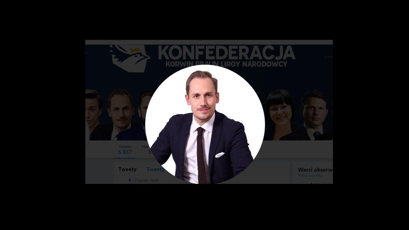 Kampania wyborcza. Przyjeżdża małopolski lider Konfederacji Korwin, Braun, Liroy, Narodowcy