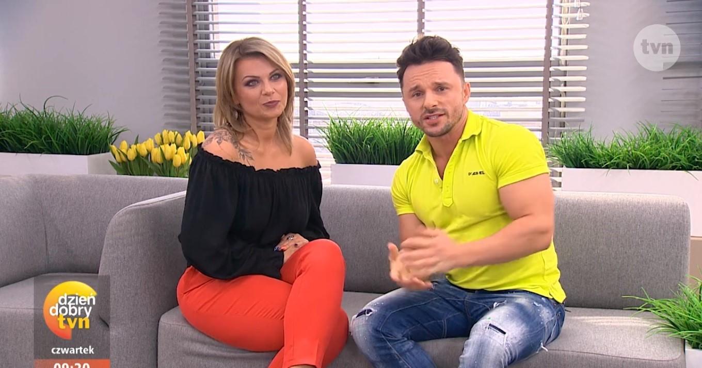 Agnieszka Smolarek i jej występ w Dzień Dobry TVN