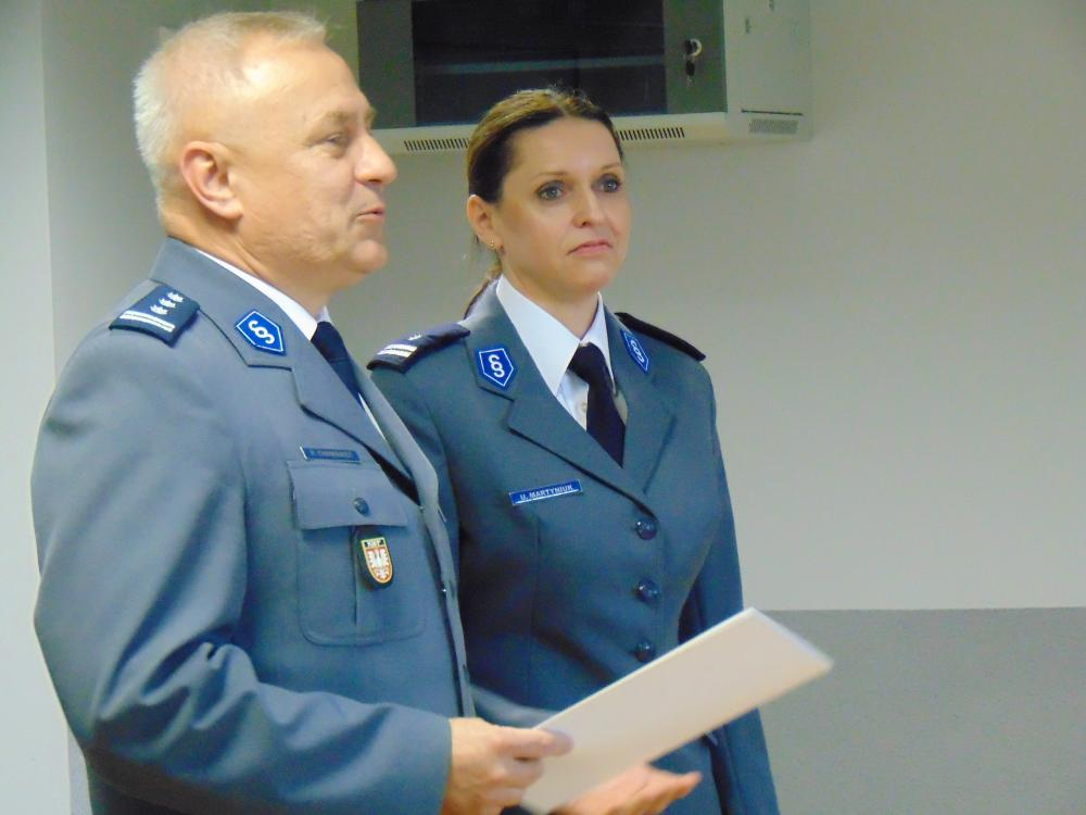 Zaczynała od patroli w Kętach, właśnie została I zastępcą komendanta