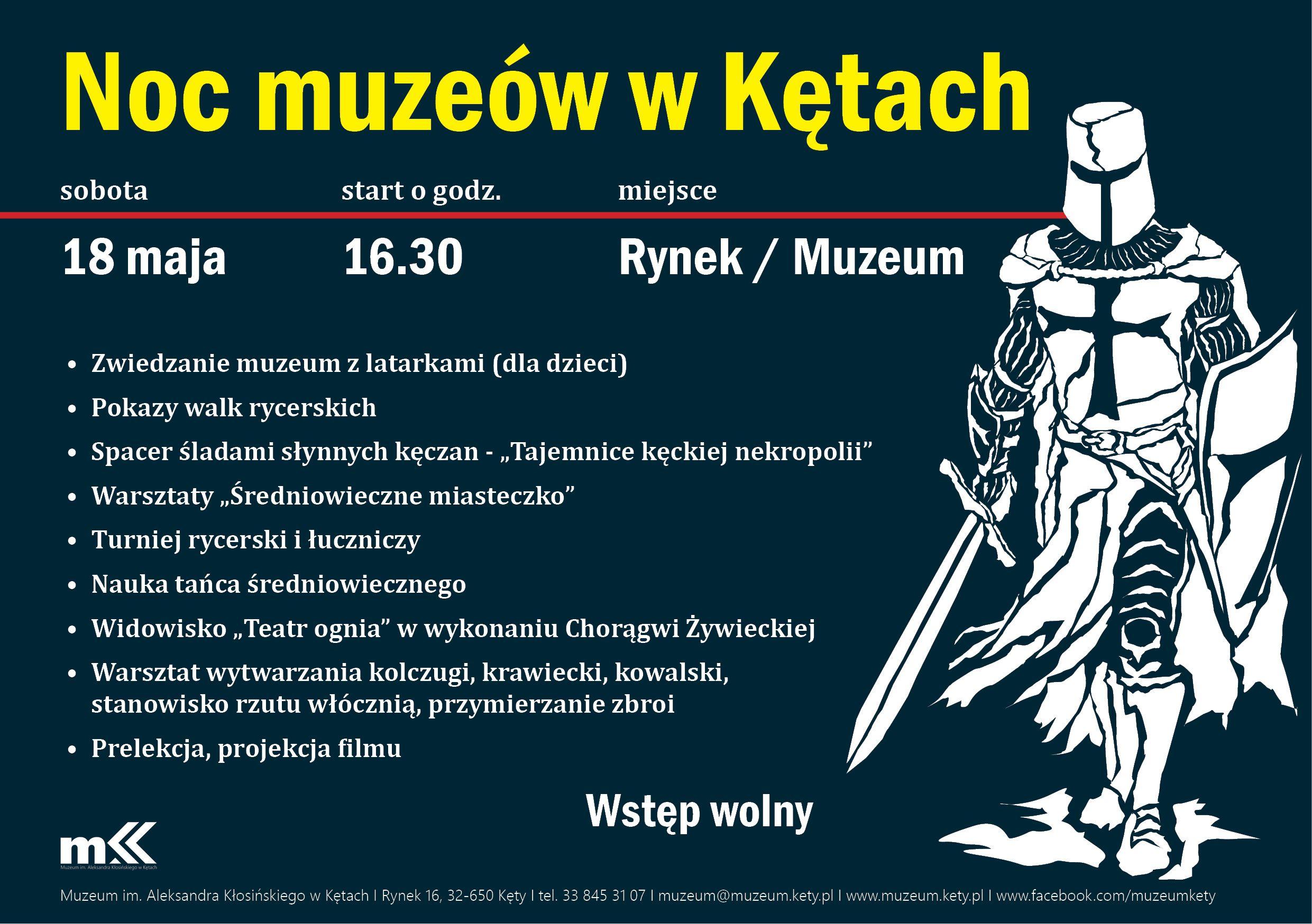 Twierdza Kęty. Muzeum zaprasza w sobotę na Noc Muzeów