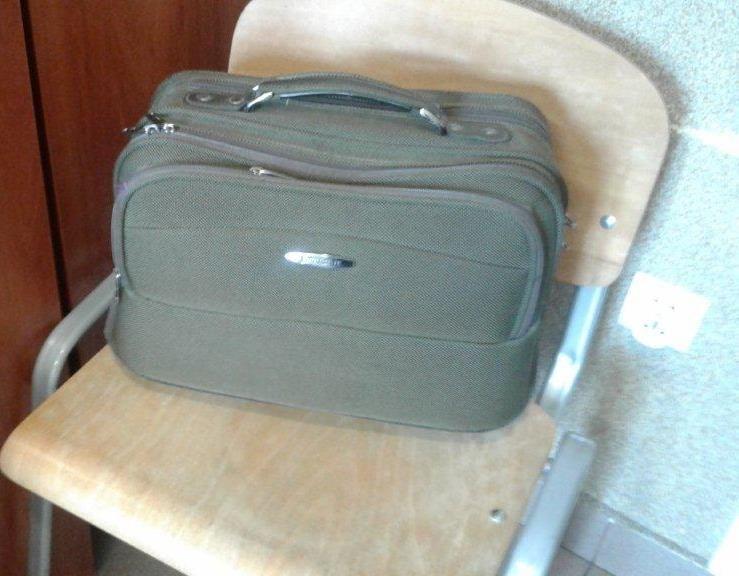 Policjanci poszukują właścicieli torby i iPada